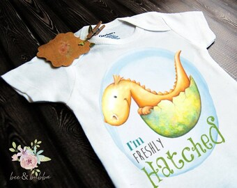 17653e12f Baby Dragon Baby Onesie ® for Pregnancy Announcement or Reveal