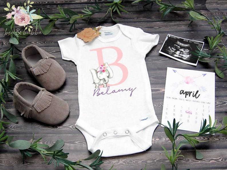 Personalized Onesie\u00ae Custom Baby Onesie\u00ae