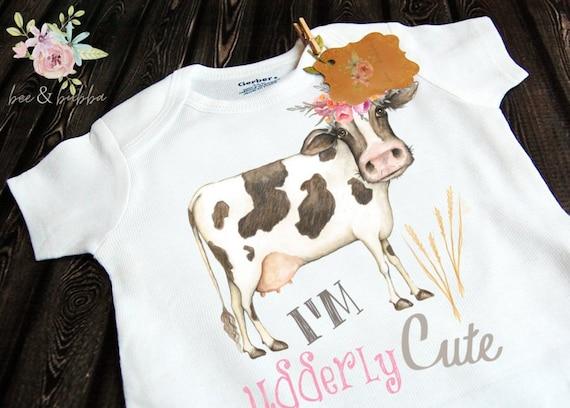 Beautiful cow romper