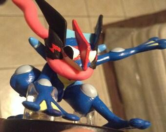Ash-Greninja custom amiibo