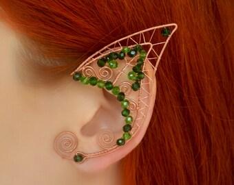 Elf Ears * Enchanted Forest Wire Fairy Elf ear cuffs