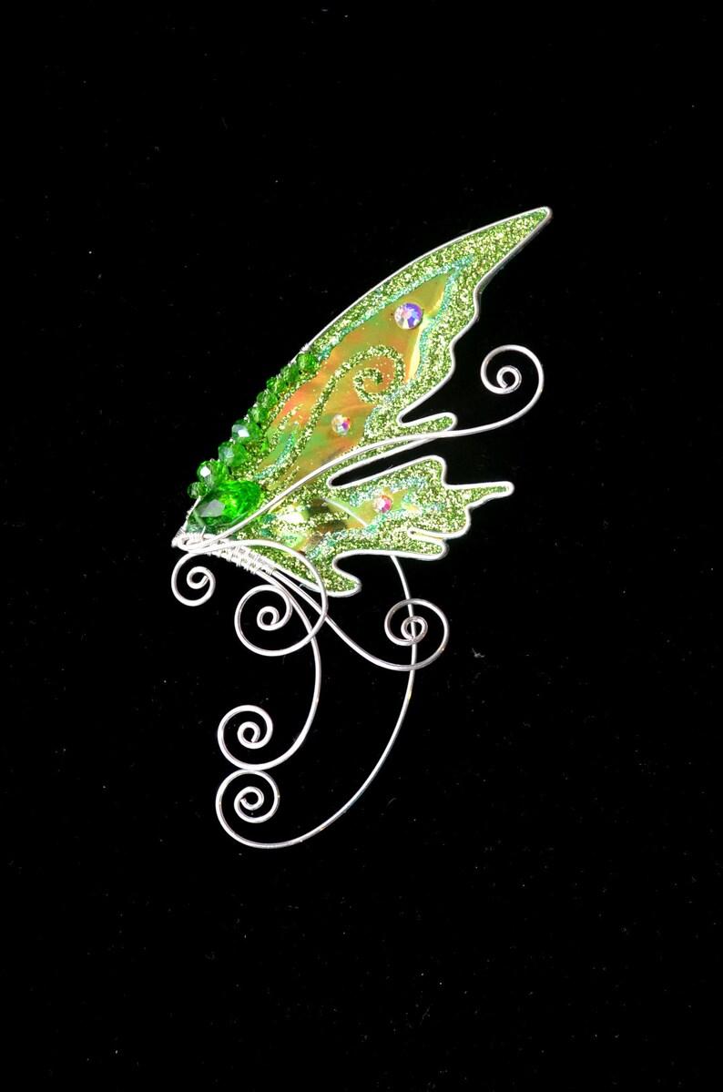 earwrap earcuff Fairy wing ear cuff Elf ear cuff Wing ear cuff Elf ear wrap Fairy ear cuff