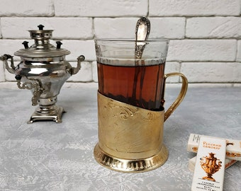 Tereshkova.USSR Cup Holder,Cupronickel Cup holder,tea cup holder Space vintage cup holder To the stars the world/'s first female cosmonaut