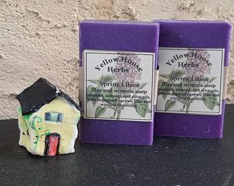 Spring Lilacs Lilac and Wisteria Handmade Soap