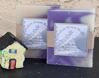Gaia Shampoo Bar with Lavender and Rosemary
