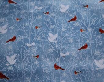 Woodland Dream Winter Patches Blau Patchwork Stoffe Patchworkstoffe Weihnachten