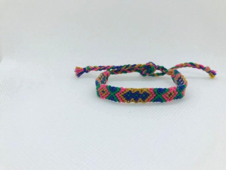 Double X Diamond Friendship Bracelet