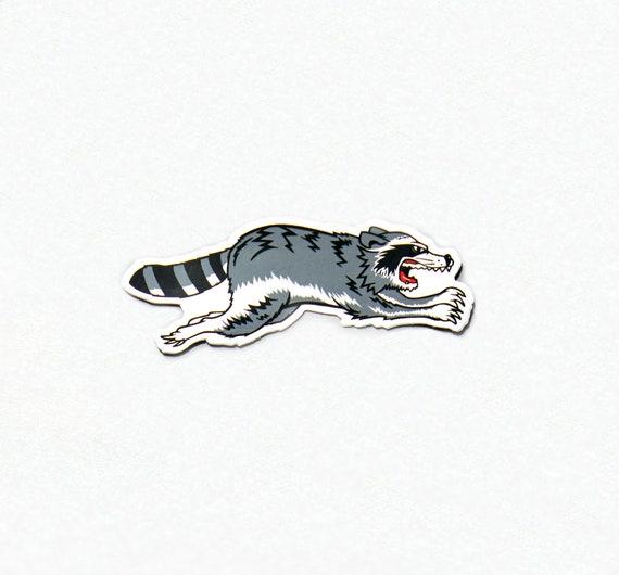 Triumph Trash Cat Sticker (Right Facing)
