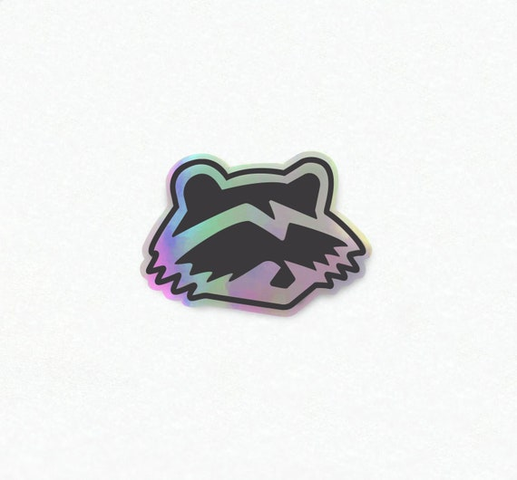 Trash Cat Racing Holographic Sticker