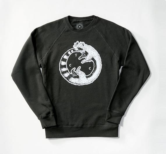 Ouroboros Raccoon Crew Neck Sweatshirt