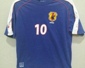 7c328005c17 Vintage JAPAN football JFA Shunsuke Nakamura shirt japan legendary football  soccer player shirt
