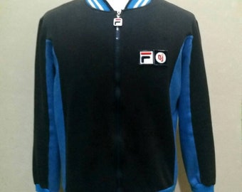 ae7f57c409fd 80s casual fila bj BORG settanta mk1 vintage fila jacket 80s casual  tracksuit vintage fila BJ