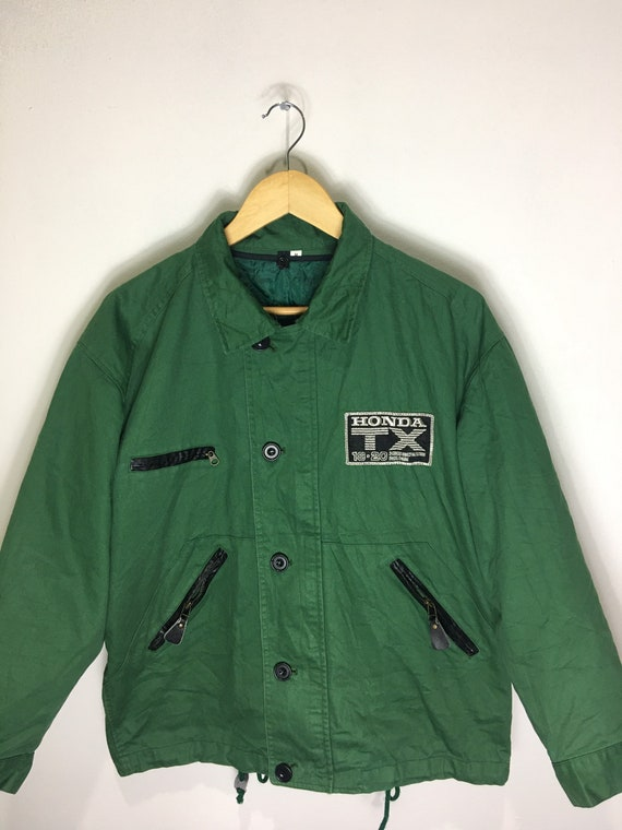 Vintage Honda Tx Mugen Embroidered Jacket