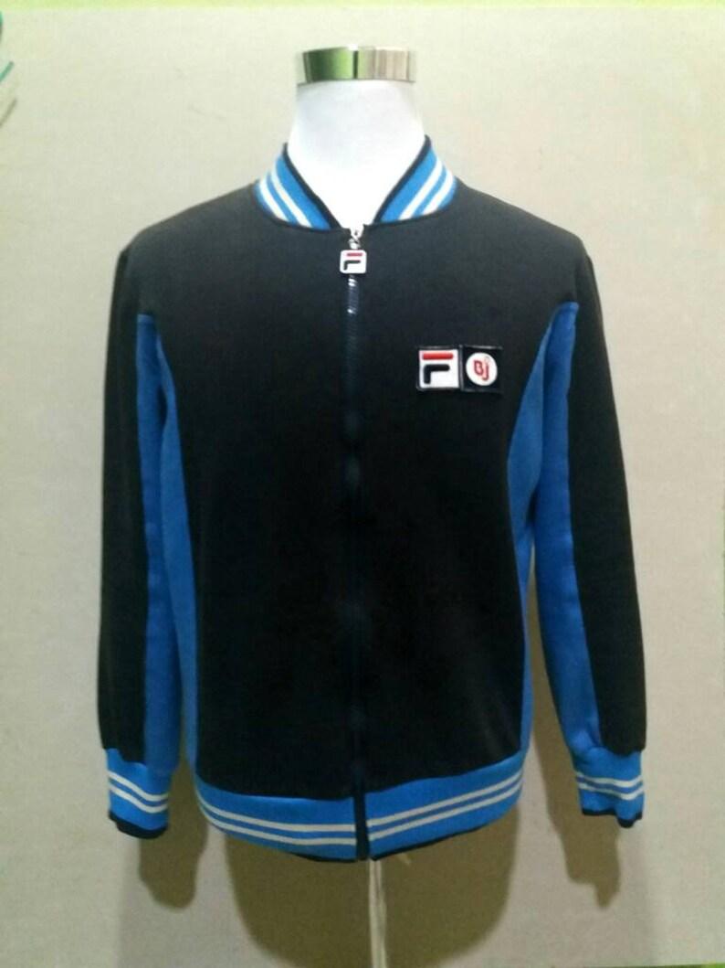 f1f6f5f19153 80s casual fila bj BORG settanta mk1 vintage fila jacket 80s | Etsy