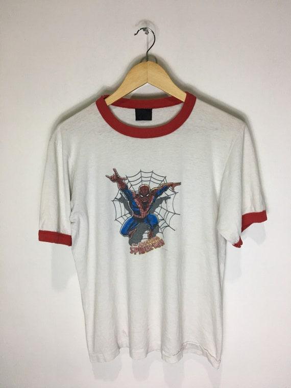 Vintage Amazing Spiderman marvel comics shirt