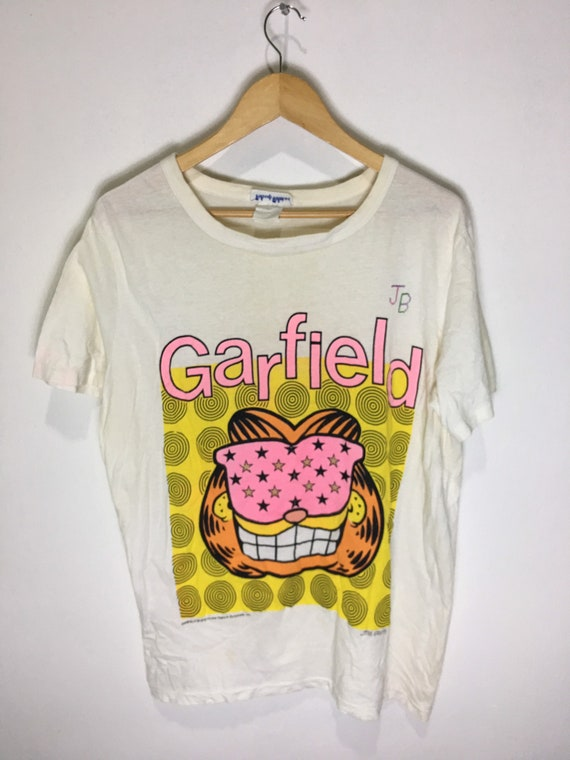 Vintage 70s Garfield Cartoon Network shirt