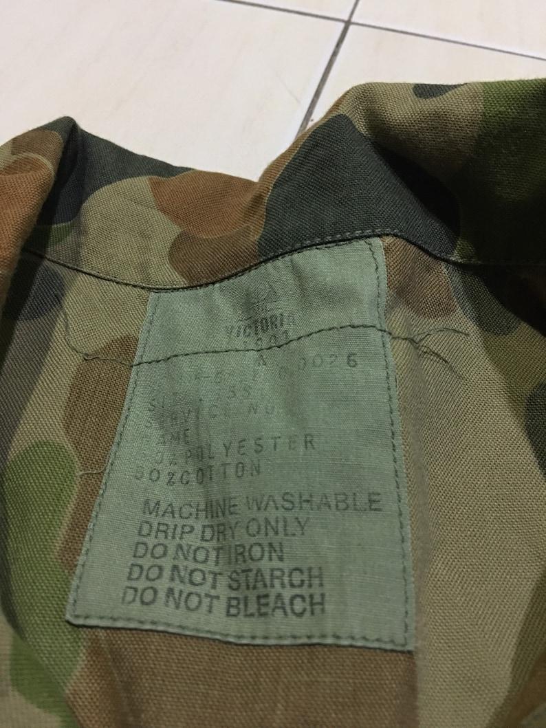 Vintage Duck Camo Victoria Army Jacket