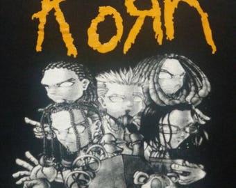Korn tour shirt