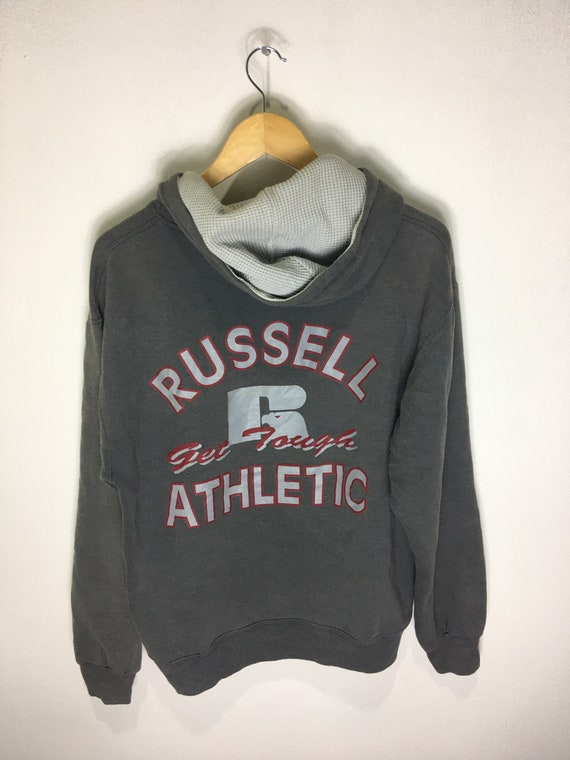 Vintage Russell Athletic Big Logo Hoodies