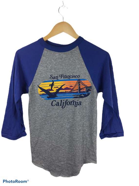 Vintage California San Francisco Rayon Tri blend J