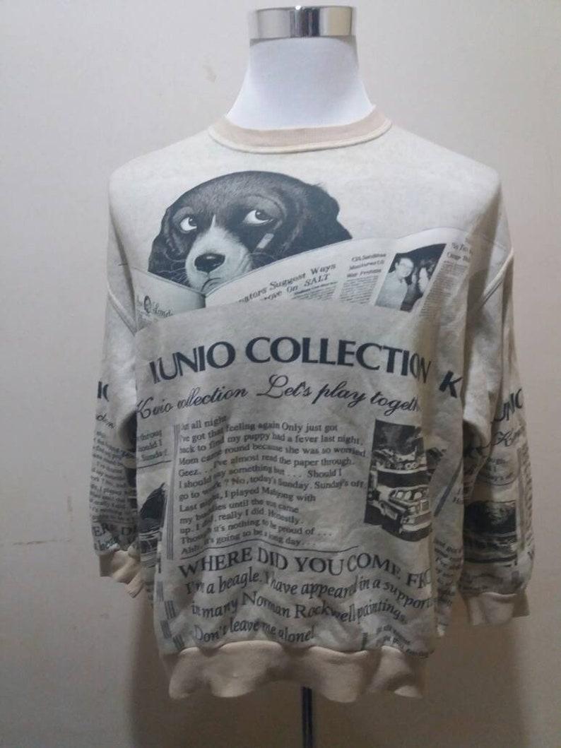 Vintage full print kunio collection 90s sweatshirts
