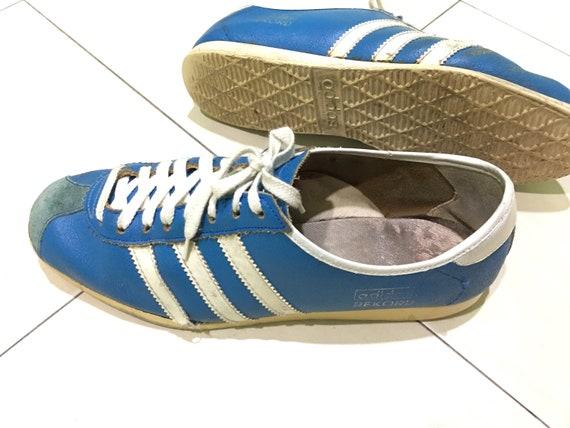 Vintage 7080s ADIDAS REKORD city series bern brussel dublin berlin london koln yugoslavia casual 80s adidas sneakers