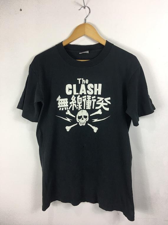 Vintage The Clash Punk Band Tour Shirt