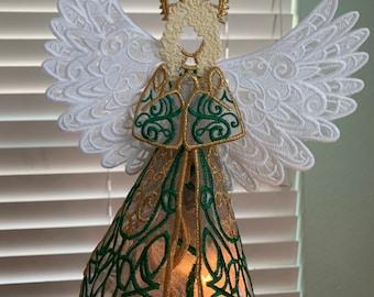 Irish Dancer Angel Tree Topper, Irish Dancer Christmas Ornaments, Irish Dance