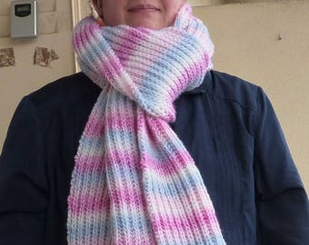 """""""Marshmallow"""" long and thick scarf"""