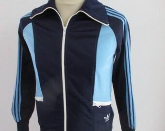 8a2d1a9bd0 Veste vintage des années 70 Adidas Ventex Taille XS
