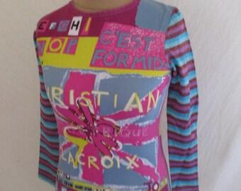 a56ebe8af2236 T-shirt Christian Lacroix vintage size 36 in-75%