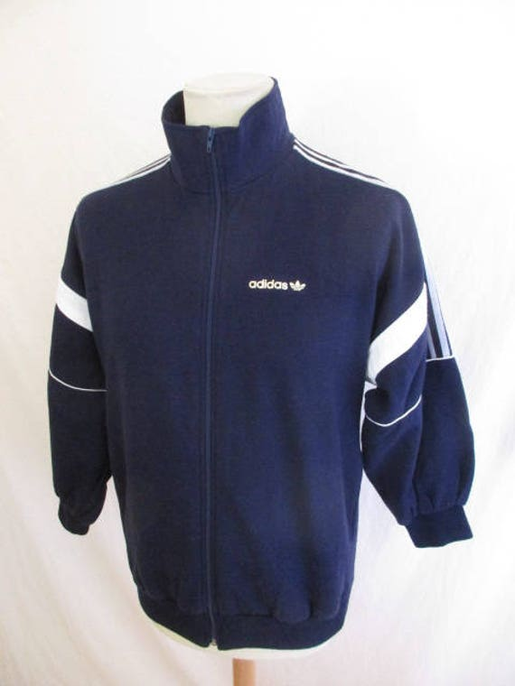 a few days away new list new collection Sweat suit vintage 80s Ventex Adidas blue size M Old Scholl