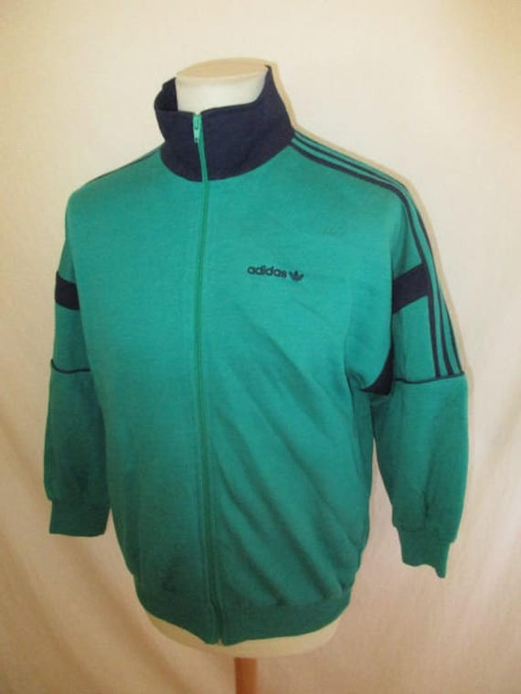 wide range free shipping factory outlets Sweat suit vintage 80s Adidas Ventex green size M Old School