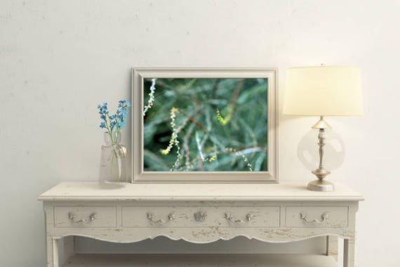 Décor De Chambre Vert émeraude Décor Imprimé Floral Chambre à