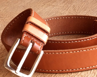 Greenwood Cintura Pelle Donna Cintura in vita fino a 140cm Uomo Cintura Designer Rosso