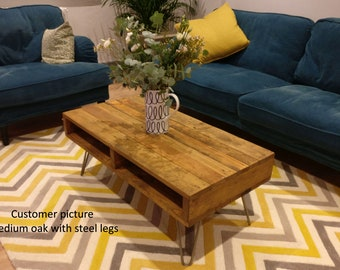 Coffee Table Wooden Table Reclaimed Wood Pallet Coffee Table Handmade Rustic Coffee