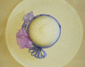 Purple Derby Hat