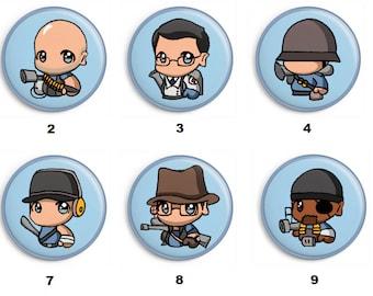 Badges Team Fortress 2 BLU