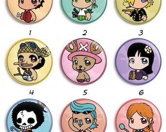 Badges One Piece 1