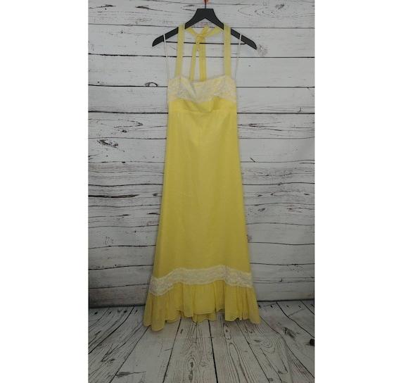 Yellow Polka Dot Prairie Sundress