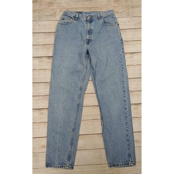 Levis 550 Tapered Leg High Waist Mom Jeans