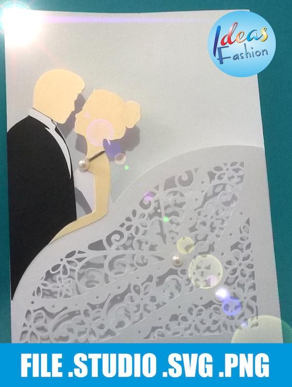 Wedding Lace Card Templates Digital Cut Svg Files Wedding Etsy