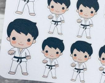 Martial Arts Chibi Female Design Ideas