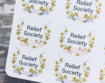 Relief Society Sticker | Lds Sticker | Church Sticker | Planner Sticker