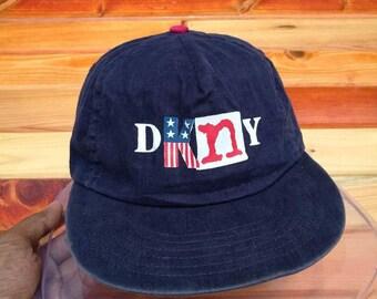 Dkny vintage cap hat Donna Karan New York fe4a4ef80962