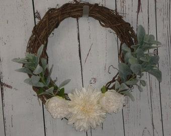 Summer Wreath, Winter Wreath, Spring Wreath, Everyday Occasion, Front Door Wreath, Back Door Wreath