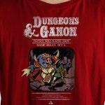Dungeons & Ganon T-Shirt | Zelda Inspired | Legend of Zelda Tee | Dungeons and Dragons | DnD Shirt | Mashup Shirt | Video Game Shirt | Tee