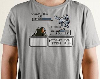 Porgémon T-Shirt | Star Wars Inspired | Pokemon | The Last Jedi | Video Game T Shirt | Porg | Vulptex | Nintendo T-Shirt | Pokemon Tshirts