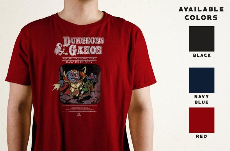 Dungeons & Ganon T-Shirt  Zelda Inspired  Legend of Zelda image 0