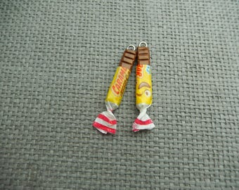 sweet set of 2 polymer clay charm